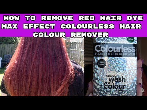 Max Effect Colourless Hair Dye Remover