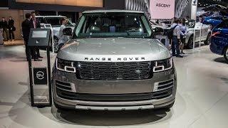 2017 LA Auto Show: 2018 Land Rover Range Rover SVAutobiography