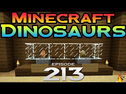 Minecraft dinosaurs episode 213 museum secrets