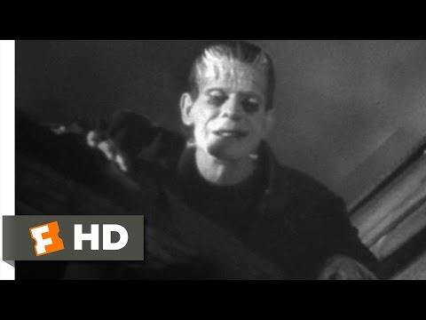 Frankenstein (8/8) Movie CLIP - Windmill Burns Down (1931) HD