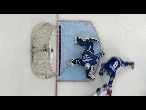 Gotta See It: McElhinney gets his arm down in time to rob Smith