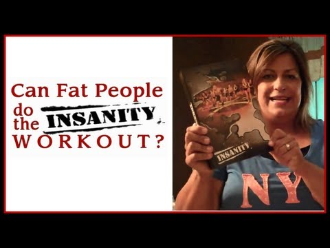 #1 CAN FAT PEOPLE DO THE INSANITY WORKOUT?