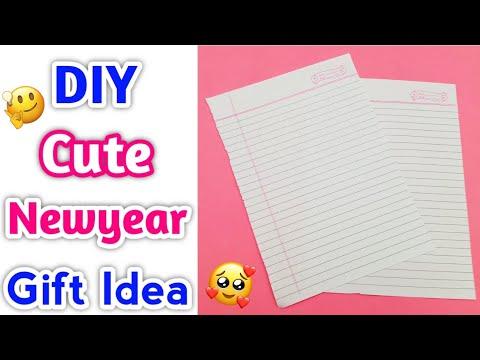 Easy handmade newyear gift idea • how to make newyear gift • new year gift making at home • #newyear