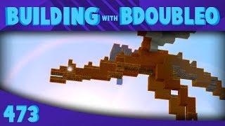 Building a DRAGON! :: Minecraft Building w/ BdoubleO #473