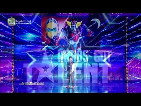 الرسوم المتحركة وعلي جابر يؤهلان متسابق للمرحلة التالية من Arabs Got Talent