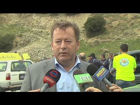 Στο σημείο της πτώσης του στρατιωτικού ελικοπτέρου ο υφυπουργός Αγροτικής Ανάπτυξης Β.Κόκκαλης