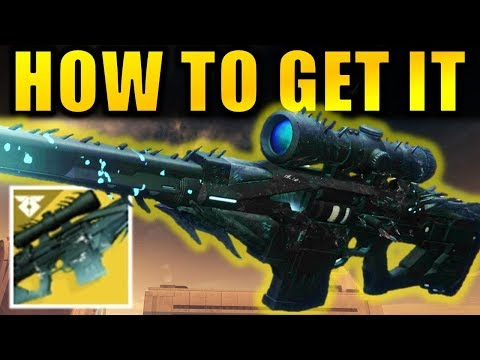 Destiny 2: How To Get The BLACK SPINDLE (Whisper Of The Worm) Exotic Sniper Rifle!