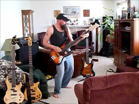 Alain Galarneau - Down The Slopes. ,CD : Well ... It's About TIME !! . . Bass Lines Cover