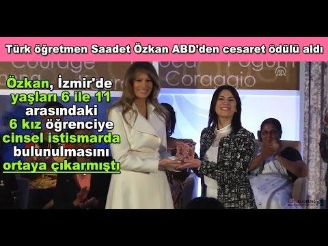 Video Türk öğretmen Saadet Özkan ABD'den cesaret ödülü aldı download in MP3, 3GP, MP4, WEBM, AVI, FLV January 2017
