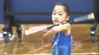 10-Year-Old Girl Is The Michael Jordan Of Baton Twirling