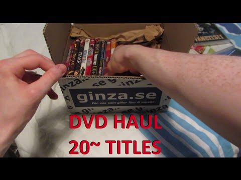 DVD/Blu-ray Haul (+ Bonus Unboxing)