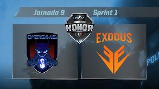 [CS:GO] - Overgame Telepizza vs Exodus - #CSHonor - Jornada 9 - T.10