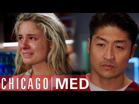Mother Leaves After Giving Birth | Chicago Med