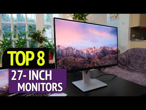 TOP 8: Best 27 Inch Monitors 2018