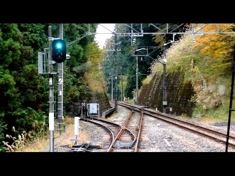 Seibu Chichibu-Ikebukuro Line driver's view from Seibu-Chichibu to Hannō in Japan (видео)
