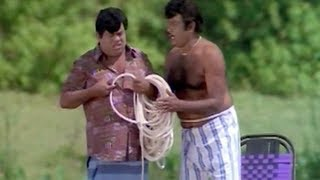 Senthil, Goundamani Best Comedy - Murai Maman Tamil Movie Scene
