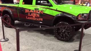 2017 Philadelphia Auto show Highend car stereo booth
