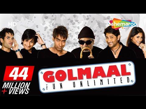 Golmaal - Fun Unlimited (2006)(HD+Eng Subs) Ajay Devgan, Arshad Warsi, Rimi Sen - Best Comedy Movie