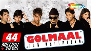 Video Golmaal - Fun Unlimited (2006)(HD+Eng Subs) Ajay Devgan, Arshad Warsi, Rimi Sen - Best Comedy Movie MP3, 3GP, MP4, WEBM, AVI, FLV Maret 2019