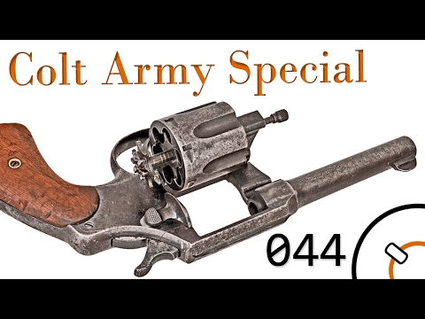 Small Arms Of WWI Primer 044: Greek Colt Army Special & Spanish Copy
