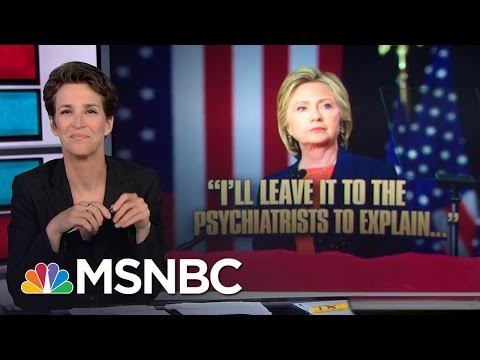 Video Hillary Clinton Clobbers Donald Trump With His Own Words | Rachel Maddow | MSNBC download in MP3, 3GP, MP4, WEBM, AVI, FLV January 2017