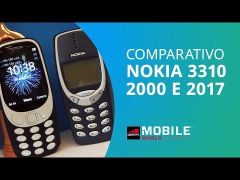 O QUE MUDOU DO NOKIA 3310 ORIGINAL PARA O LANÇADO NA MWC?