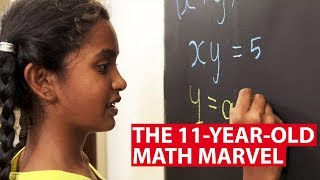 The 11-Year-Old Math Marvel