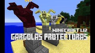 PROTEGE TUS CONSTRUCCIONES CON GÁRGOLAS||MINECRAFT 1.12||Gargoyles Mod