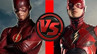 Video Flash VS Flash | Ezra Miller Flash vs Grant Gustin Flash | Who is FASTER?! MP3, 3GP, MP4, WEBM, AVI, FLV Januari 2018