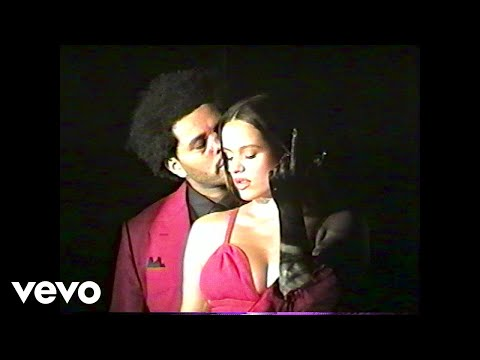 The Weeknd ft. ROSALÍA - Blinding Lights [Remix] (Official Lyric Video)