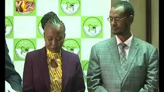 Kamishna wa tume huru ya uchaguzi na mipaka IEBC, Roselyne Akombe alisafiri nchini Marekani mapema hii leo baada ya...