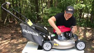 1. HONDA $400 Smart Drive Self Propelled Lawnmower Unboxing and Review ZIMALETA Landscaping