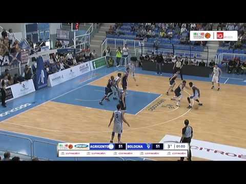 Fortitudo, gli highlights del match Gara 1 contro Agrigento