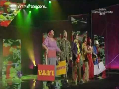 Eurovision Portugal 2011 - Homens da Luta - Luta É Alegria