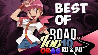PokeaimMD Best of the Road to Top Ten in ORAS RU and PU by MadlyInsaneGamersCafe by PokeaimMD