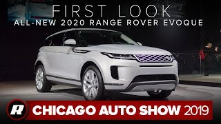 Redesigned 2020 Range Rover Evoque is now available as a mild hybrid | Chicago 2019 by Roadshow