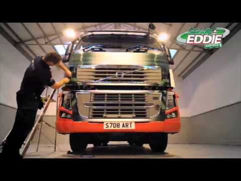 How to Paint a Stobart Truck