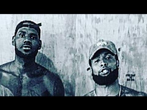 LeBron James & Odell Beckham Jr. Train Together
