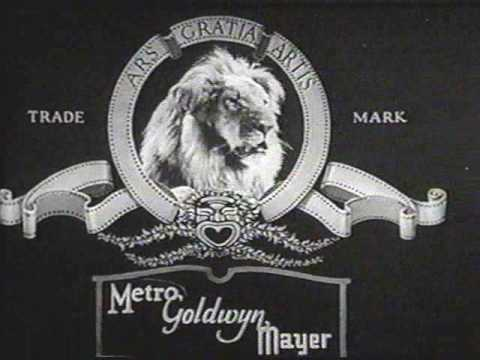 "Early MGM Jackie the Lion ""roars"" from 1928-9"