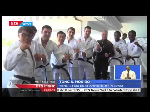 Kenyan Tong Il Moo Do team seeks to defend their title in Mombasa