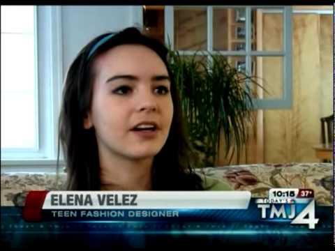 Elena Velez – Teenage Fashion Designer