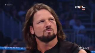 Nonton Aj Styles And Shane Mcmahon Smackdown 4 April 2017 Film Subtitle Indonesia Streaming Movie Download