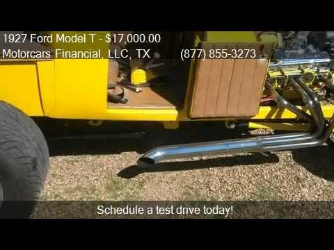 1927 Ford Model T Bucket for sale in Headquarters in Plano,