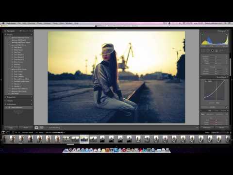 Cross Processing w Adobe Lightroom - poradnik wideo