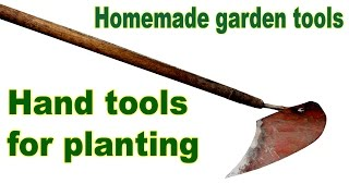 In this video I will create a hand tool for planting plants.Picture: https://goo.gl/photos/WWW4EecyirhnqfQ69Puller made with own hands: https://www.youtube.com/watch?v=Dj25ZrmDmPEHomemade lathe for wood: https://www.youtube.com/watch?v=Ck_EL33PMg0Homemade wheel hand hoe. Garden wheel hoe: https://www.youtube.com/watch?v=H2rn-TsGvkkPlanting potatoes using a garden tractor: https://www.youtube.com/watch?v=OnQXoD3h58oHilling potatoes using a garden tractor: https://www.youtube.com/watch?v=gIqg-h6QAgoHomemade garden tractor digging potatoes: https://www.youtube.com/watch?v=wDgu18zQaQwMy homemade garden tractor: https://www.youtube.com/watch?v=Mt5xFKd0vAcThe process of assembling my garden tractor: https://www.youtube.com/watch?v=3JkUFFnmglkLiberal DIY: https://www.youtube.com/channel/UCfy35XU-M9w-jXmNUsO--fA