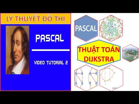 -Hướng dẫn chi tiết Thuật toán Dijkstra, tìm đường ngắn nhất  trên đồ thị, lý thuyết đồ thị - Pascal