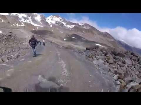 Downhill Stubaital ab Eisgrat Teil 1 (видео)