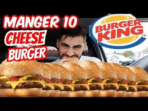 Video MANGER 10 CHEESEBURGER - DÉFI TheKAIRI78 - BURGER KING CHALLENGE SAINT ETIENNE download in MP3, 3GP, MP4, WEBM, AVI, FLV January 2017