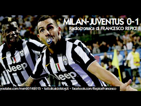 Milan - http://www.facebook.com/RepiceFrancesco - MILAN-JUVE 0-1 nella voce di FRANCESCO REPICE (Radio Rai) http://www.tuttoilcalcioblog.it da Tutto il calcio minuto per minuto Milan (4-3-3): Abbiati;...