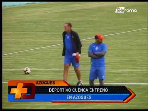 Deportivo Cuenca entrenó en Azogues